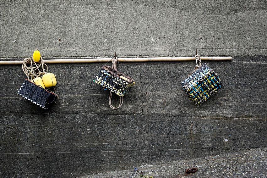 Hanging No People Outdoors Day Fisherman Streetphotography Fishermen's Life Fishermanvillage