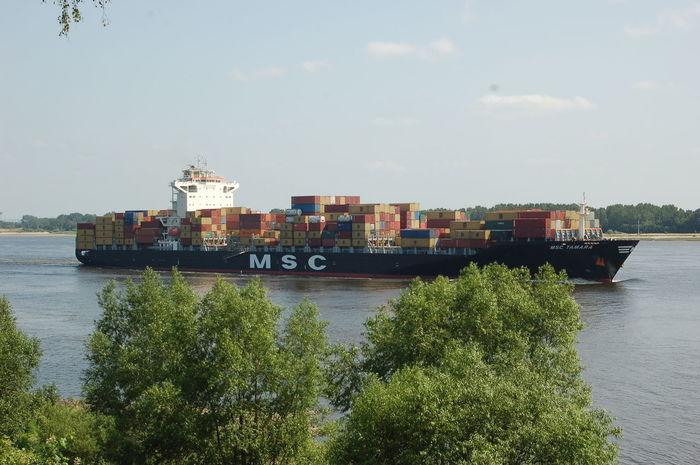 Elbe Blankenese Schiff