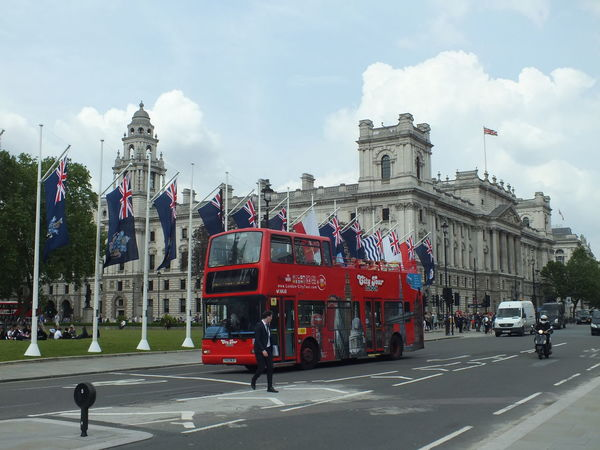 Architecture Capital Cities  City City Life City Street Double Decker Bus Flags London Travel Destinations United Kingdom From My Point Of View No Filter, No Edit, Just Photography
