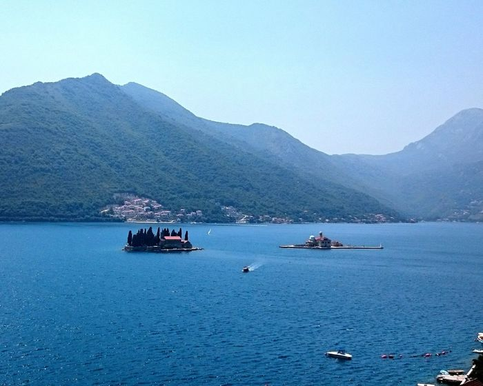 Beauty Of Montenegro Lovely Adorable Silhouettes Mountains Green Brilliant Colors Beatiful Nature Summer Summer2015 Summertime Clear Sky Islands Adriatic Sea Adriatic Enjoying Life Enjoying The View