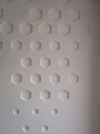 3Dwall Motif  Geometric Shapes Design by MEKAI Smart Simplicity Interior Design Pattern ArchitectureInterieur Morocco