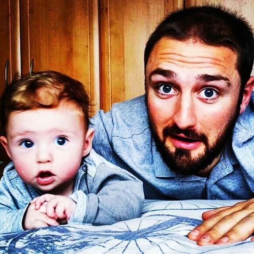 Me And Finmiester Father & Son Funtimes Sillytimes FamilyLove