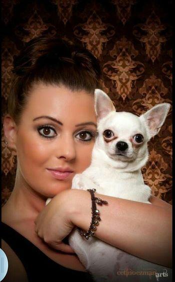 I Love My Dog Portrait Cetinözman-make-up-arts Cetinoezman-arts