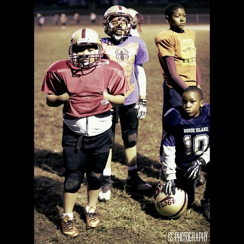 """Providence 49ers with my nephew Donovan """"Slack Lil"""" on the left"""