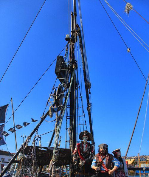 England Cornwall Penzance  Pirates Ship Skeleton Jolly Roger