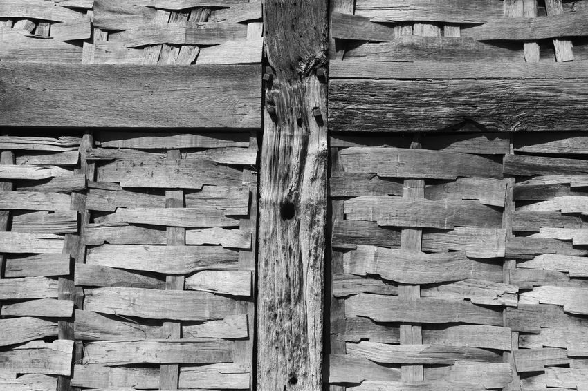 Close-up of wall of old building, Bromsgrove, Worcestershire, England. Architecture Backgrounds Bromsgrove Close-up Day Full Frame Monochrome No People Outdoors Pattern Textured  Timber Wood - Material