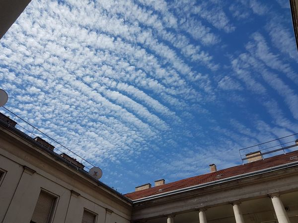 Blue Sky Budapest Cloud Daylight Hungary No People Sky Wawes Sea EyeEmNewHere