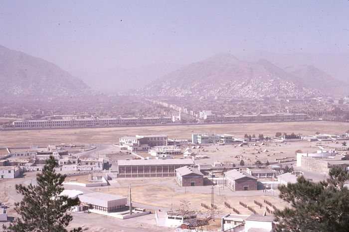 Army Camp, Kabul Afghanistan Arid Climate Army Camp Blue Sky Buildings City Cityscape Cityscape Composition Hazy  Hazy Sky High Angle View Kabul Mountains No People Outdoor Photography Sunlight Trees
