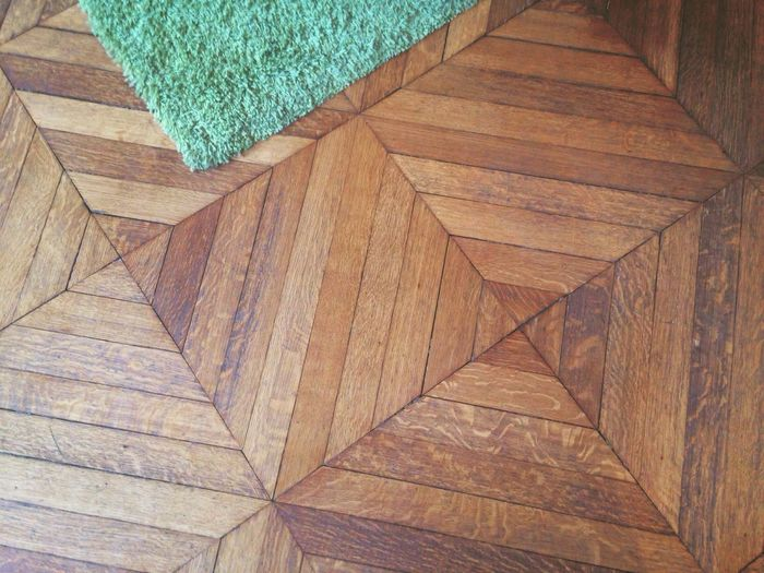 IPhoneography Hardwood Floor Lines Lines And Shapes Square Triangles Floor Wood - Material No People Indoors  Green Day
