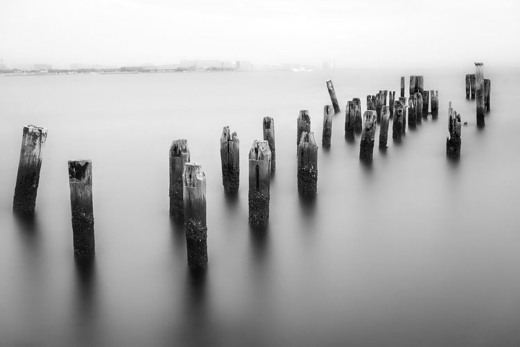 Fine Art Photography Black And White Pier