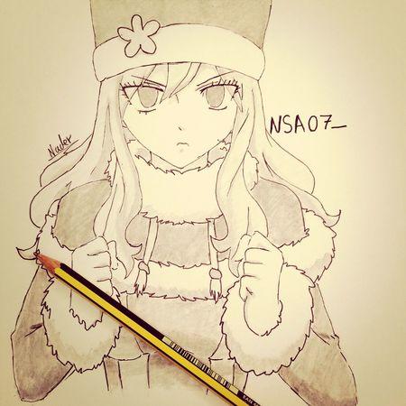 juvia ?✏️ Juvia Fairytale  Fairy Tail Natsu Lucy Heartifilla Manga Art Drawing Draw Anime