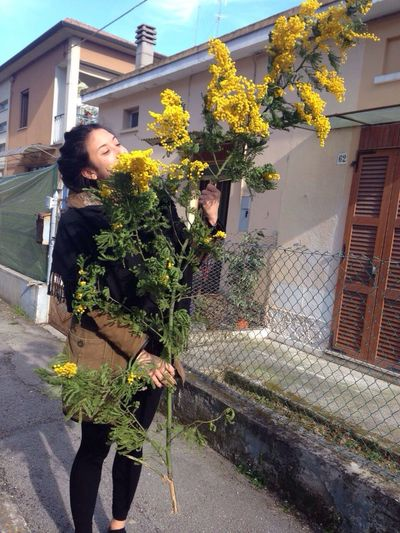 Stamo senza mimosa Auguridonne 8marzo Dubbi Maronn