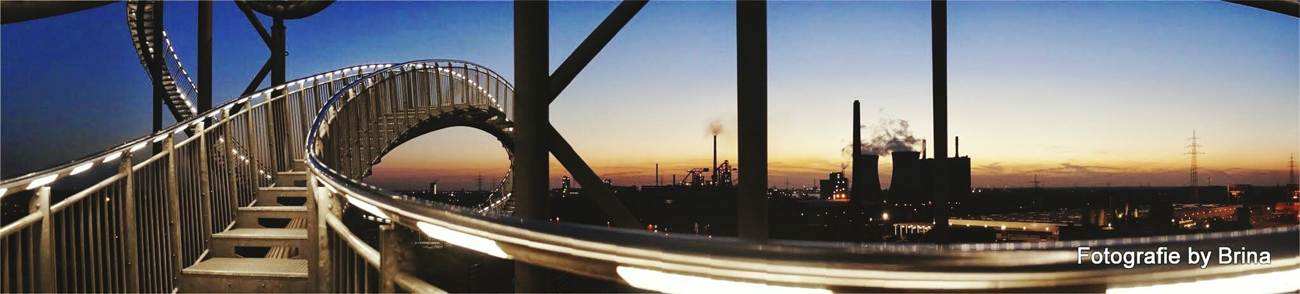 My Country In A Photo Tiger & Turtle Roller Coaster Angerbach | Duisburg Industry Stairways Panorama Amazing Architecture Capturing Freedom / A beautiful scene about modern architecture and industry Beauty Redefined