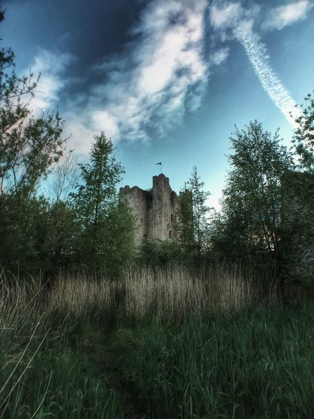 Architecture Building Exterior Built Structure Castle Cloud - Sky Day Grass Growth Historical Building History Ireland Irish Nature No People Outdoors Plant Sky Tranquility Travel Travel Destinations Tree Trim Castle
