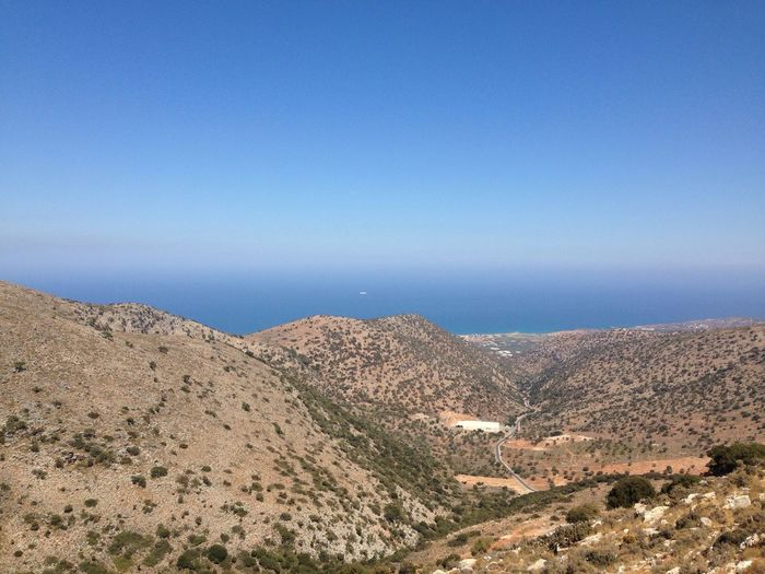 Beauty In Nature Blue Mountain Scenics Tranquility Landscape Nature Travel Destinations Tourism Crete Crete Greece Enjoying The View My Year My View