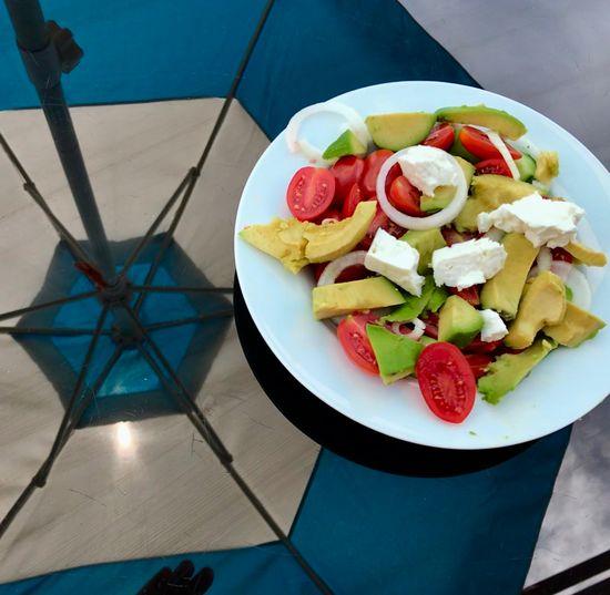 Foodpornphotography Greek Cuisine Greek Salad Fruit Food Food And Drink Healthy Eating Freshness Plate