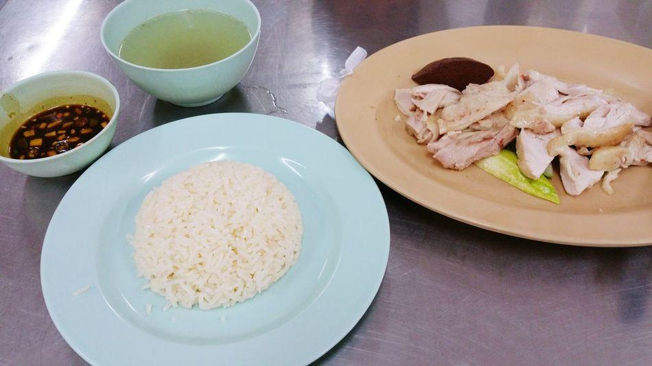 Street Food Worldwide Bangkok Thailand. Bangkok Kaomangai Chiken Hot Dericious Localfood Popular