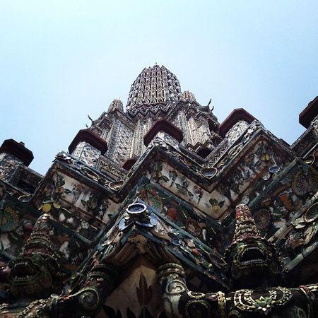 It's not that high, they say. Wat Arun Watarun Th Thailand Chaophraya Buddha Buddhism Igers Ignation Igersmanila Igersoftheday POTD Picoftheday Photooftheday Instaios Insta_awe Instalike Like4like Followstagram Tweegram Happybatins Batintin Travel