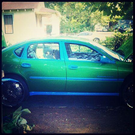 My cuz car