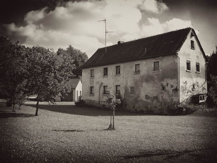 Architecture Blackandwhite Abandoned Places Countryside