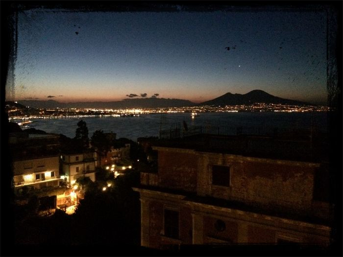 Dawn in naples.....