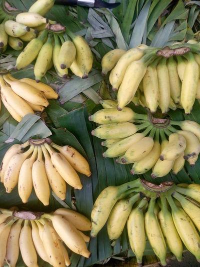 Close-Up Of Banana At Market