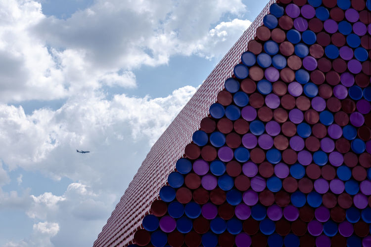 Jeanne-Claude and Christo Sculpture, The London Mastaba Malephotographerofthemonth The London Mastaba The Mastaba Sculptures London Serpentine @hyde Park Art Sculpture Jeanne-Claude And Christo Modern Pyramid Sky Architecture Modern Art Tall - High Architectural Feature