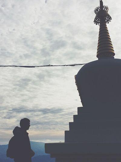 Temple Budism Granada Alpujarra Silence Reflection Peace