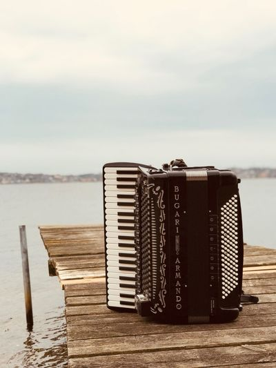 Koldingfjord Musician Accordion Water Sea Beach Land Sky Nature Day No People Outdoors Musical Instrument Beauty In Nature Horizon Over Water