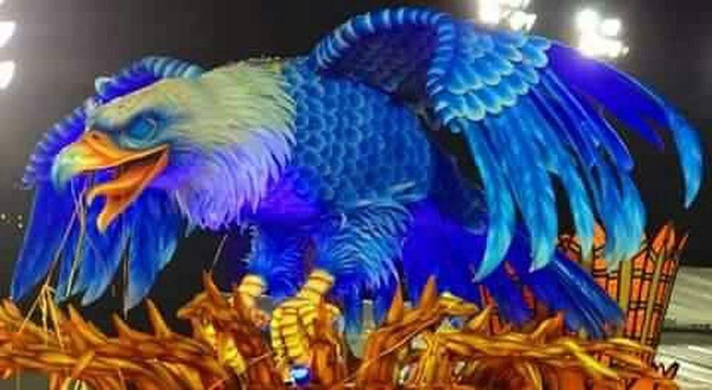 Alegoria Carnaval de São Paulo, Águia da Nenê de Vila Matilde! Carnaval2015