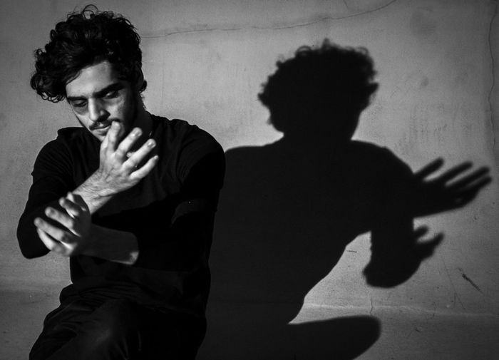 Expressionism Male Model Shadow Photography Shadowplay Shadows & Lights Shadow Sao Paulo - Brazil Shooted indoors (studio) to creat the ambiance of a expressionist movie with lots shadow.
