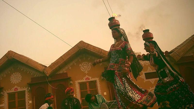 BIKANER,Rajasthan. KALBELIYA