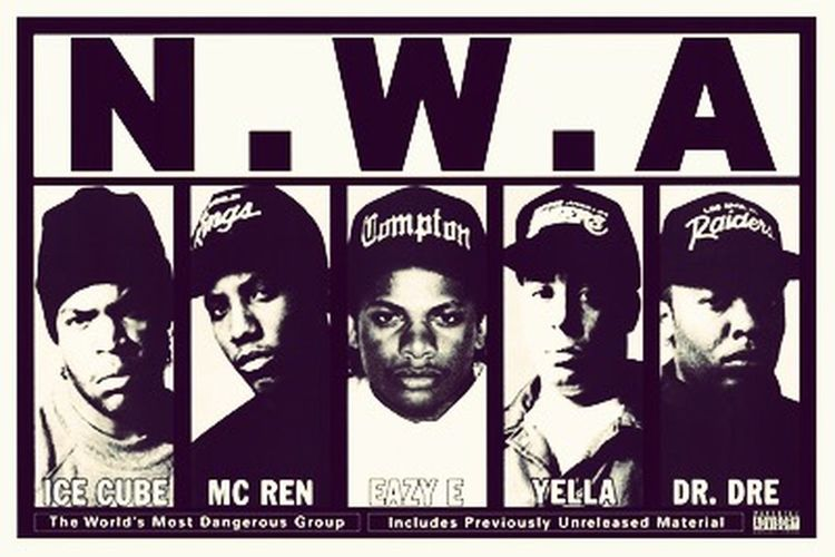 Niggaz Wit Attitudes N.W.A. The World's Most Dangerous Group ! PEACE ✌🏼️ First Eyeem Photo