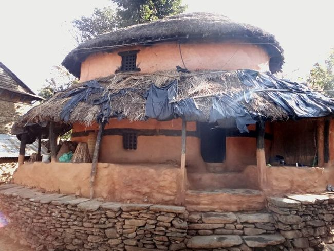 Ghumaune Ghar(Round House).. Birth Home of my Great Grandmother.. Built Structure Building Exterior Architecture Clay House Straw Roof Heritage Building Rural Area Mountainous Region Simple Living Simplicity Life In The Mountains Real Life Photography Nepali Way Nepal No People Travel Destinations Rural Life Lifestyle Ancestral House Handmade Rock Stairs Handcarved Windows Proud Heritage Traditional House