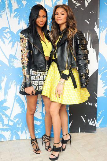 Chanel Iman & Zendaya Coleman High Fashion Fashion