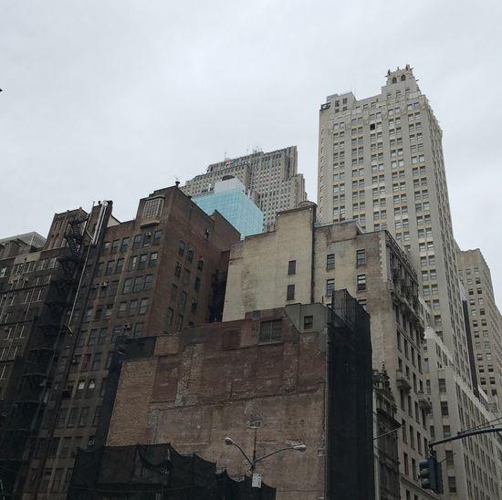 Layers Building Architecture Construction Urban City Grey Nofilter Manhattan NYC New York