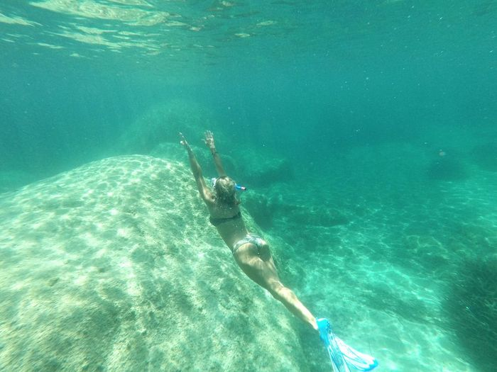 Snorkeling in