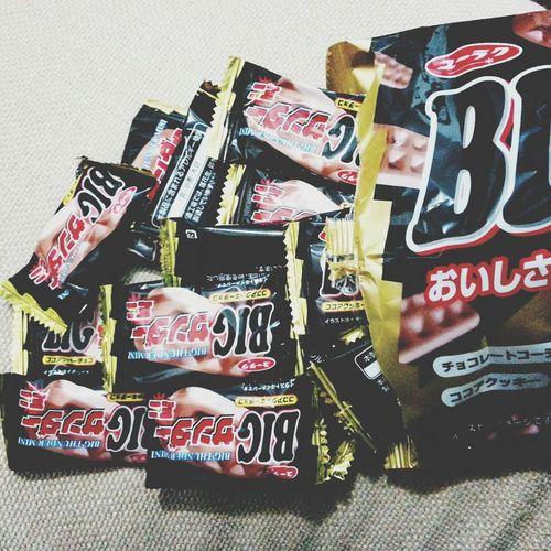 mini 大雷神 Avalanche . Japanese Sweets Chocolate