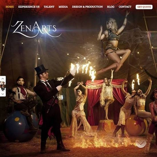 This is why I do what I do. I am so lucky to be part of such a talented Team @dburnsdesign . We launched @zenarts new Website yesterday. When two creative companies collide...Magick happens. ? check out zenartsla.com, mobile version coming soon.