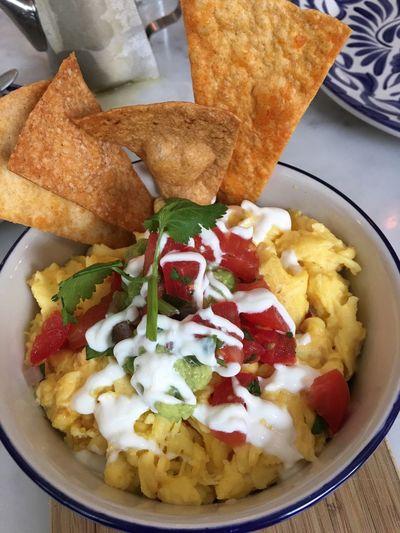Huevos con Chorizio Foodspotting