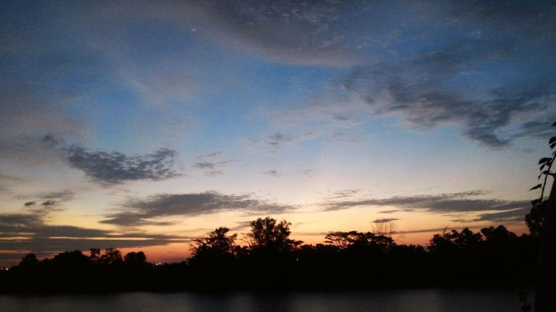 Somewhere Only We Know Ilovenature Skyscape Light And Shadow Beautiful Sunset Simple Things In Life Eyeem Philippines Colors Check This Out