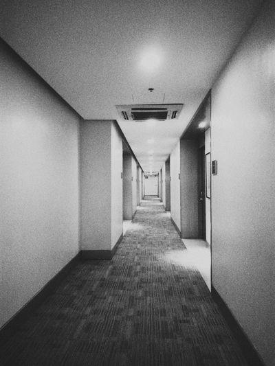 Hallways And Silence