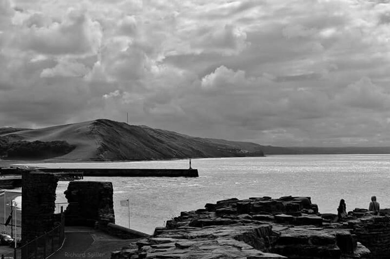 Aberystwyth Seaside Seascape Wales Black & White Black And White Nikon Nikon D3200 Blackandwhite Photography Bnw Myview My World My Photography Great Britain Check This Out Hello World Sea View Hopeyoulike