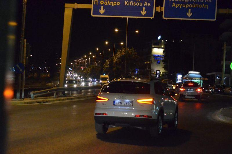 Night Illuminated Transportation Car City Mode Of Transport Road No People Outdoors Architecture Nikon