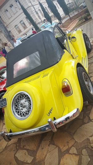 Car Yellow Transportation No People City Day Car Events Car Detail Cars Rare Car