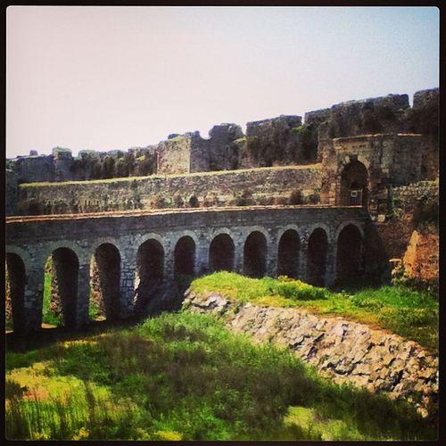 Greece Hellas Methoni Castle peloponisos green