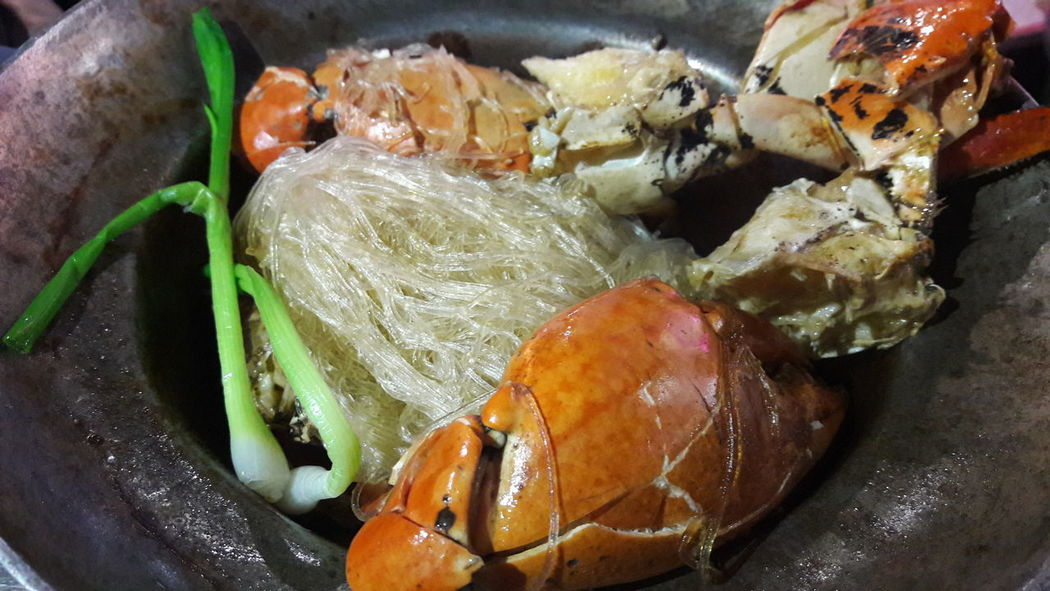 EyeEm Selects Food And Drink Food Freshness Healthy Eating Seafood No People Indoors  Close-up Day Ready-to-eat ปูอบวุ้นเส้น Thai Food Foods Crab Seefood Food Stories