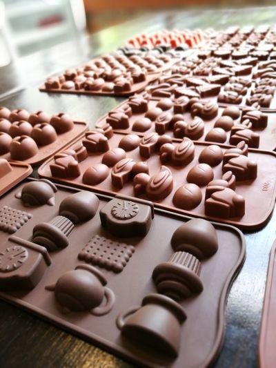 Geometric Shape Chocolate Mold