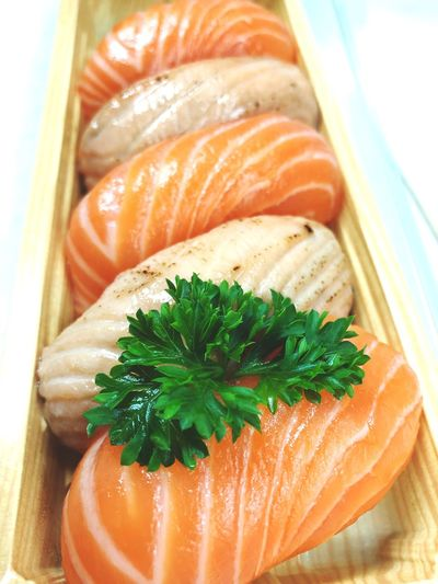 Roll up City Lunch Lunch Lunchtime Japanese Food Sushi Salmon Sashimi Salmon