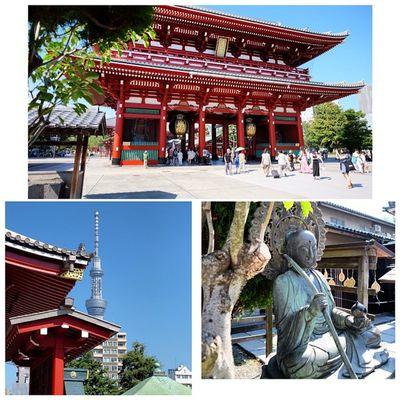 Great day in Asakusa Tokyo Japan Sensoji shrine temple travel lovetokyo InstaSize